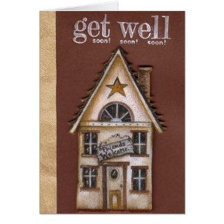 A casa obtem logo o cartão bom