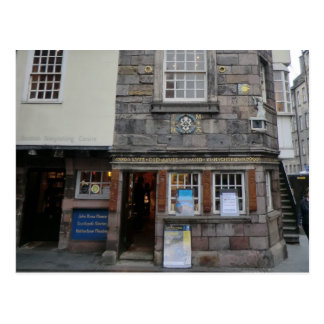 A casa presbiteriano de John Knox do líder em Cartoes Postais