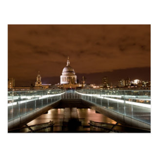 A catedral de St Paul, cartão de Londres