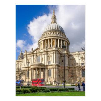 a catedral de St Paul, cartão de Londres Reino