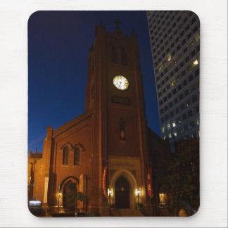 A catedral velha Mousepad de Mary de santo