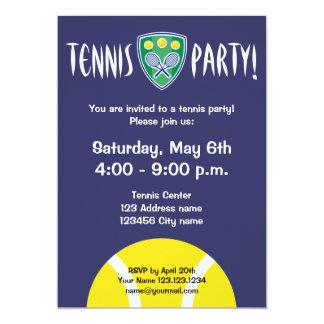 A celebração dos convites de festas | do tênis
