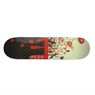 A cerca shape de skate 18,1cm