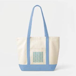 A cerceta azul nativa esquadra o chique feliz boni bolsas para compras