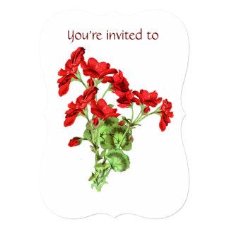 A cerimonia comemorativa convida a arte da flor do convites personalizado