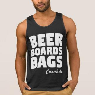 A cerveja embarca as bolsas Cornhole