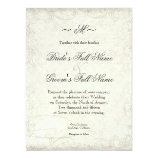 A chave a meu coração, casamentos do redemoinho convite
