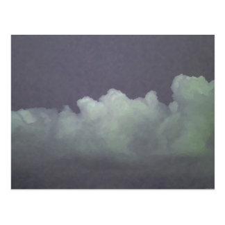 """A """"chuva sopra"""" - cartão"""