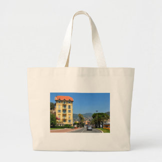 A cidade de agradável em Riviera francês Bolsa Tote Grande