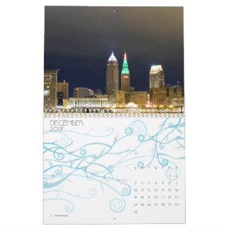 A cidade de Cleveland vê o calendário