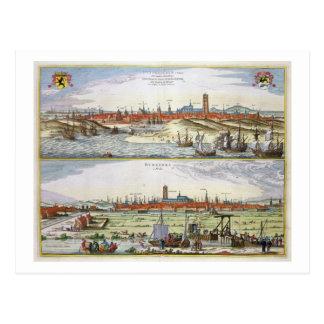 A cidade de Dunkirk durante a ocupação espanhola, Cartões Postais