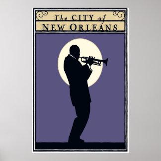 A cidade de Nova Orleães, poster