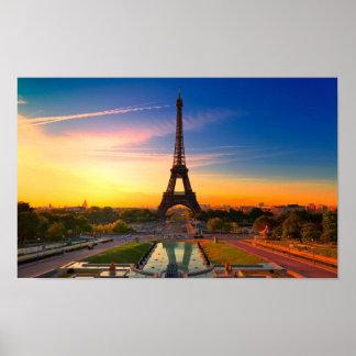 A cidade de Paris Pôster