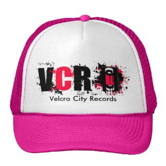 A cidade de Velcro grava o chapéu Boné