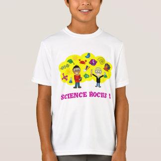 A ciência balança desenhos animados camiseta