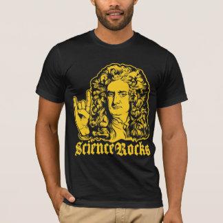A ciência do senhor Isaac Newton balança camisas