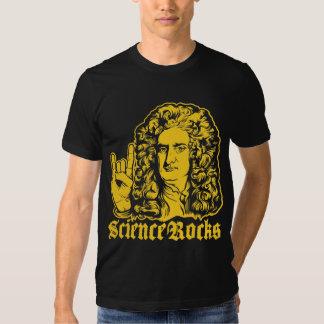 A ciência do senhor Isaac Newton balança camisas T-shirt