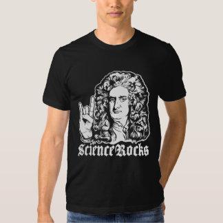 A ciência do senhor Isaac Newton balança camisas Tshirt