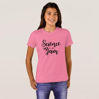 A ciência é a camisa do meu miúdo do doce