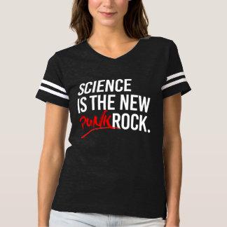 A CIÊNCIA É o PUNK ROCK NOVO - - Pro-Ciência -- wh Camiseta