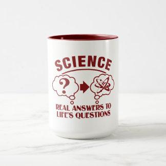 A ciência responde à caneca - escolha o estilo & a