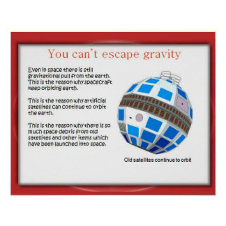 A ciência, satélites velhos nunca morre poster