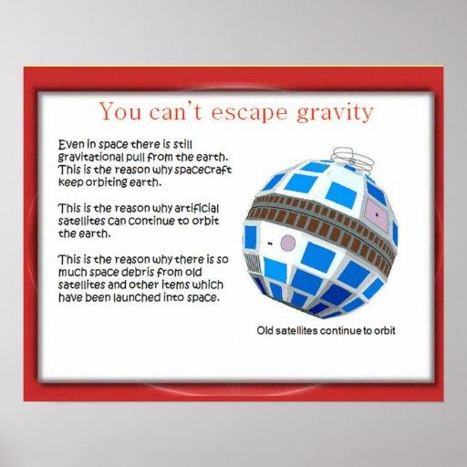 A ciência, satélites velhos nunca morre posters