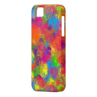 A CKC-Pintura pode o caso 5/5s Floral-iPhone Capa Para iPhone 5