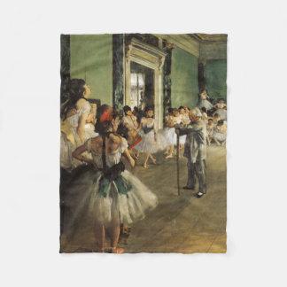A classe do balé, Edgar Degas 1874 Cobertor De Lã