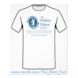 A clínica do Pokey de Hokey Panfletos