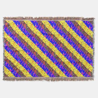A cobertura colorida do lance dos blocos de coberta
