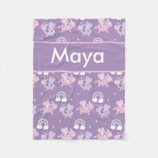 A cobertura personalizada do Maya Cobertor De Velo
