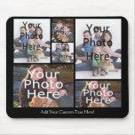 A colagem feita sob encomenda Mousepad da foto adi