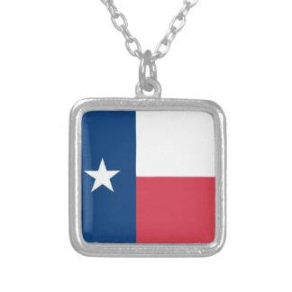 A colar das mulheres da bandeira de Texas