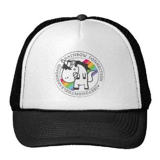 A coleção da conexão do arco-íris boné