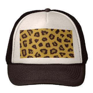 A coleção da pele - leopardo boné