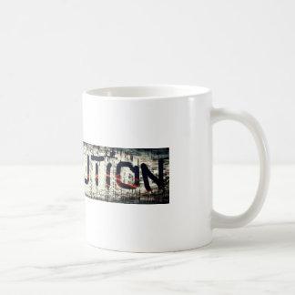 """A coleção da """"revolução"""" caneca de café"""