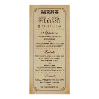 A coleção do casamento de Steampunk do Victorian 10.16 X 22.86cm Panfleto