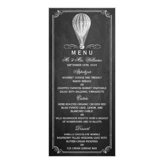 A coleção do casamento do balão de ar quente do panfleto