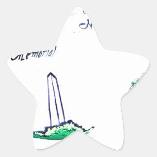 A coleção do patriota adesivo estrela