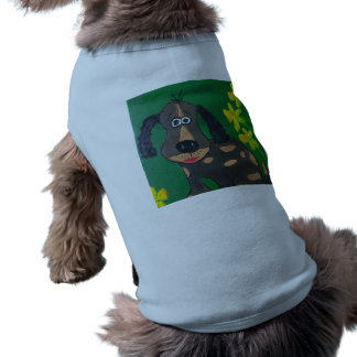 A coleção Wriggly de Ralph - roupa do animal de Camisa Sem Mangas Para Cachorro