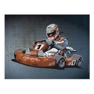 A competência do motor do cartão Vai-Kart