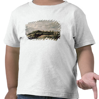 A competição do tiro ao arco t-shirts