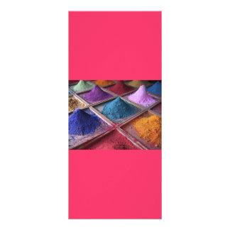 a composição colorful_world2 pulveriza o estilo da 10.16 x 22.86cm panfleto