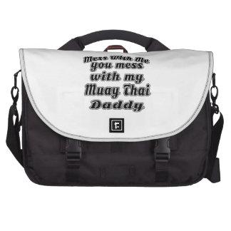 A confusão com para fora você suja com meu pai bolsa para laptops