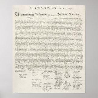 A constituição dos Estados Unidos da América Pôster