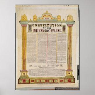 A constituição dos Estados Unidos da América Posteres