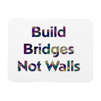 A construção constrói uma ponte sobre não o ímã