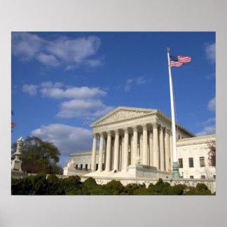 A construção da corte suprema dos Estados Unidos d Impressão