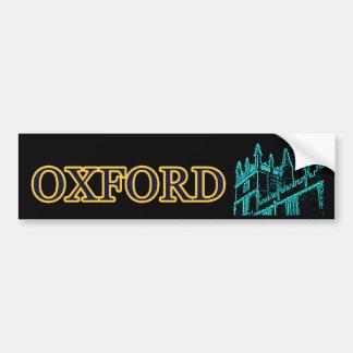 A construção de Oxford Inglaterra espirala jGibney Adesivo Para Carro